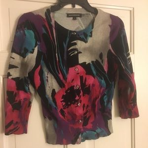 Gorgeous Floral Cardigan by Express-Small
